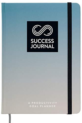 Success Journal / Serious Blue: A Productivity Goal Planner