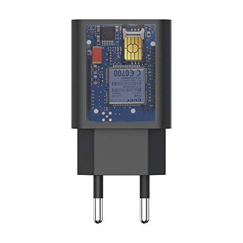 Slkon | Cargador Micro GSM Espion escucha a distancia en tiempo real con batería de hasta 3 días en espera y 3 horas de conmutación