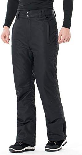 Sportneer Mens Snow Pants Insulated Ski Pants Snowboarding Pants Black M product image