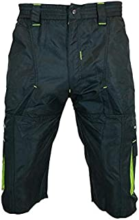 Urban Cycling Apparel Mens Gravel Grinder Bike Shirts with Underliner Flex Soft Shell with Zip Pockets and Vents