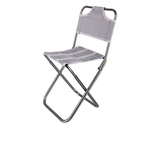 qidongshimaohuacegongqiyouxiangongsi angelausrüstung Angelhocker Sitzplatte Mazar Outdoor-Camping-Stühle Leichten tragbaren Klappstuhl Klapp (Color : Gray)