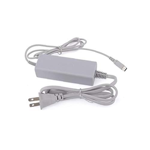 WiiU Gamepad cargador de la energía del cargador con adaptador de fuente de alimentación para Nintendo enchufe de EE.UU.