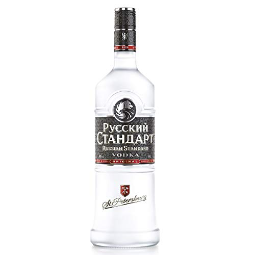 Russian Standard Original Vodka - 1 botella de 1 l (100 cl)