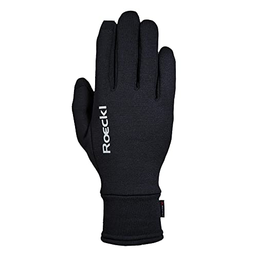 Roeckl Outdoor Handschuhe Kailash, Multisport, Touchscreen, Schwarz, 7.5