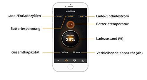 Akku mit Handy Bluetooth BMS