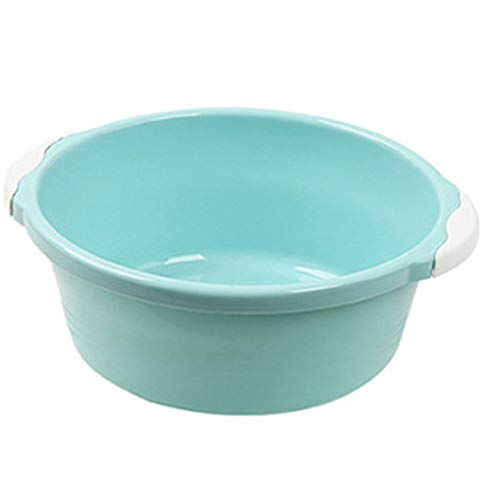 LouiseEvel215 Haushaltswaschbecken Plastikbecken kleine Dicke runde Spülbecken Waschbecken Waschbecken Waschbecken kleine Waschbecken