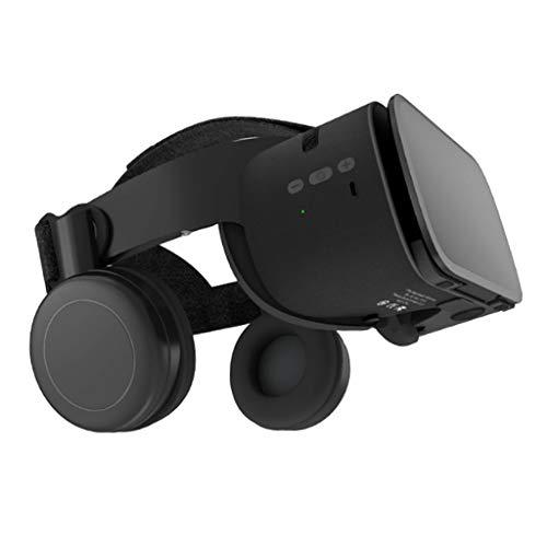 kokiya Z6 3D VR Glasses Stereo Virtual Reality Headset for Smart Goggles - Black