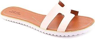 Rasteira Verniz Numeração Especial Sapato Show 12204e