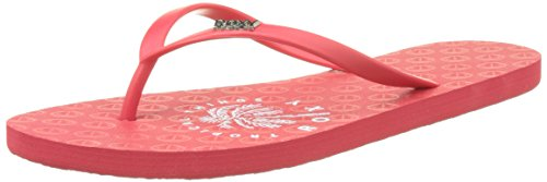 Roxy Viva Stamp, Chanclas Mujer, Rouge (Red), 36 EU