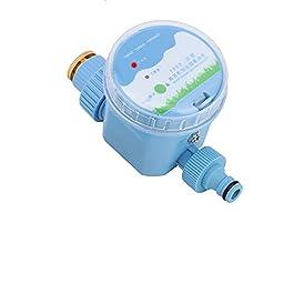 Minuterie d'irrigation automatique, minuterie de tuyau d'arrosage à télécommande Smart WiFi APP, contrôleur de système d…