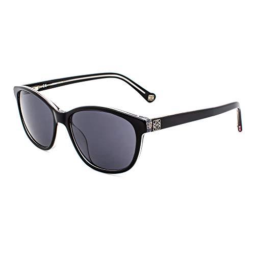 Loewe SLW906530Z32 Gafas, BLACK+CRYSTAL, 53x17x140 para Mujer