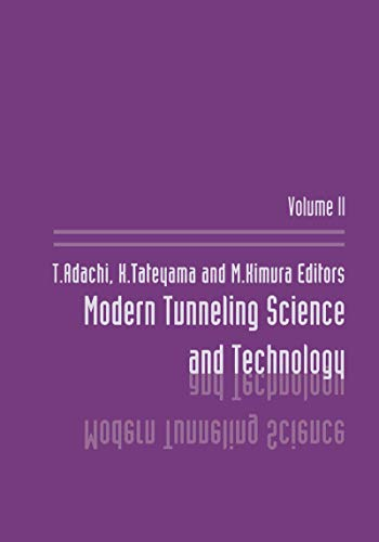 Modern Tunneling Science And T