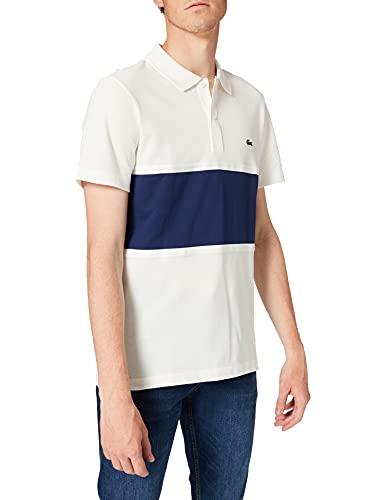 Lacoste PH9849 T Shirt Polo, Farine/Scille, S Uomo