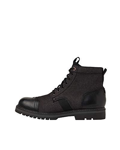 G-STAR RAW Mens Strek Ankle Boot, Black 9239-990, 42 EU