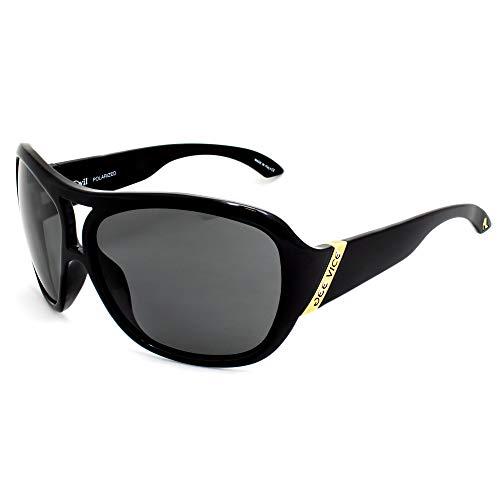 JV21-140114001 - Gafas de sol polarizadas para mujer JEE Vice, color negro
