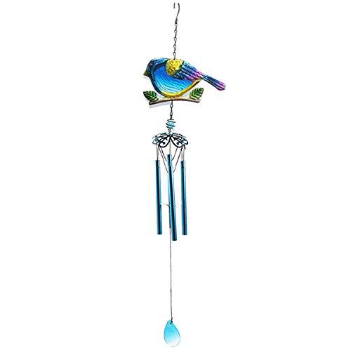 YL-adorn art Wind Chimes, Un Jardin Extérieur Et Intérieur Carillon À Vent avec Natural Apaisants, Creative Blue Bird De Carillons De Vent, pour La Décoration De La Maison Cadeaux De Noël