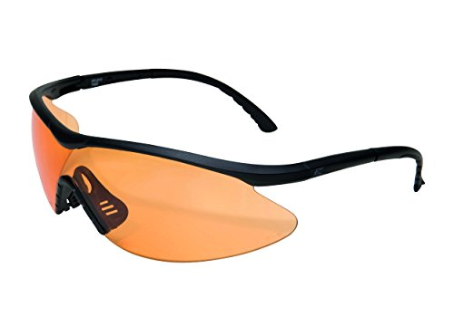 Edgeware Adultes Edge Tactical Safety Eyewear, fastlink, Noir Mat, revêtement Anti-Rayures, Anti-buée Tiger S Eye Vapor Shield Protection Lunettes, Multicolore, Taille Unique