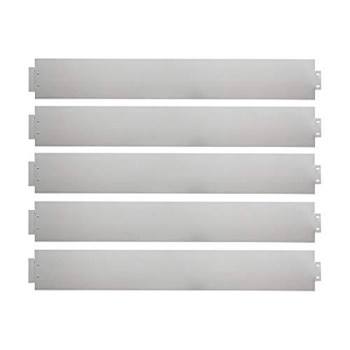 LARS360 Rasenkante Metall Rasenkante Verzinkt Mähkante Metall Beetumrandung Beeteinfassung - Silber Spleißanordnung (50M, 100 x 18 cm)