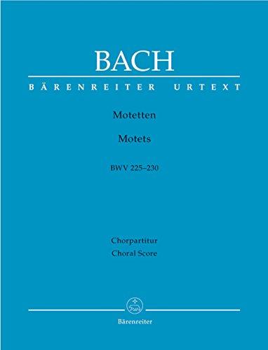Motetten BWV 225-230. Chorpartitur