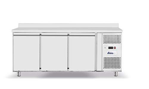 HENDI Cámara congeladora de tres puertas Profi Line (420 litros) - Profi Line - 230V / 600W - -22/-17˚C - 1795x700x(H)850 mm