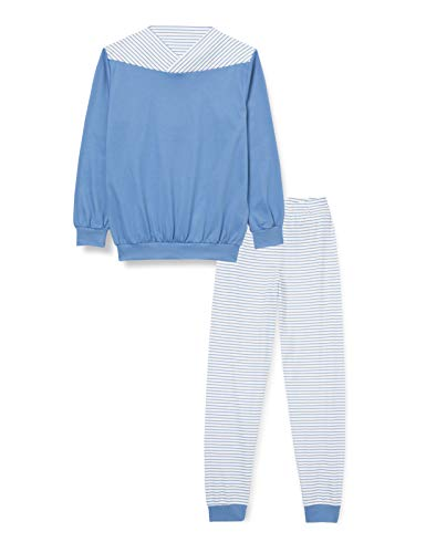 CALIDA Jungen Yellowbration Kleinkinder Bündchen Pyjamaset, Bay Blue, 92