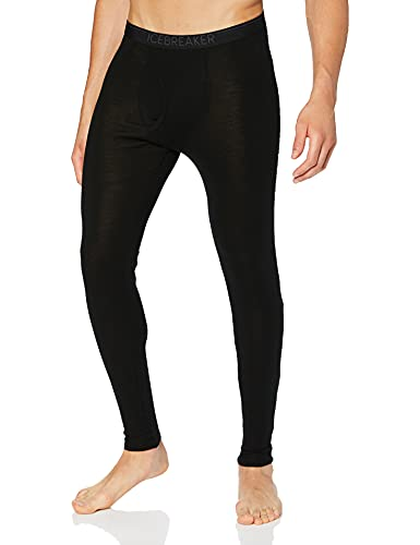 Icebreaker Merino Men's Mens 175 Everyday Leggings W Fly, Black, S