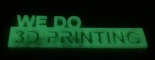 Filamento per stampante 3D PLA 1,75 mm, verde fluorescente (luminoso), alta tolleranza, ampia temperatura di esercizio, 300grms(100m), Verde, 10