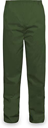 normani Outdoor Sports Regenhose für Damen und Herren wasserdicht 5000 mm für Wandern, Gassi gehen, Angeln oder Fahrad Fahren Farbe Oliv Größe M
