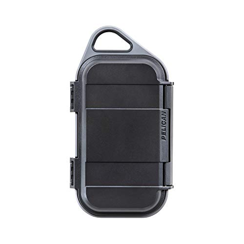 Pelican Go G40 Case with 10000mAh Portable Charger (battery) and Wireless Qi Charging (Grey)
