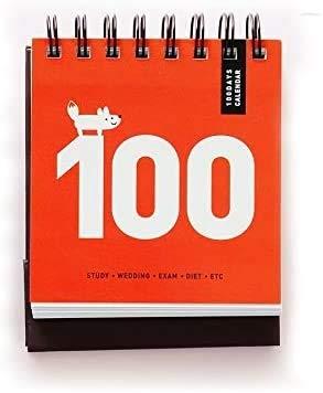 Calendarios 2021 Calendarios 100 días cuenta regresiva calendario diario planificador escritorio calendario cuaderno aprendizaje de notebook horario periódico agenda suministros escolares papelería pl