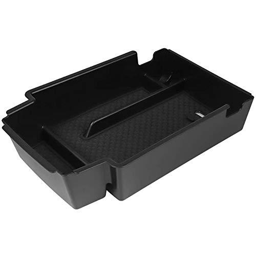 AXYP Car Apoyabrazos Caja Almacenamiento, para Chevy Blazer 2019 2020 Armrest Antideslizante Doble Capa Consola Central Organizador Bandeja, Coche Central Storage Box Estilo Accesorios