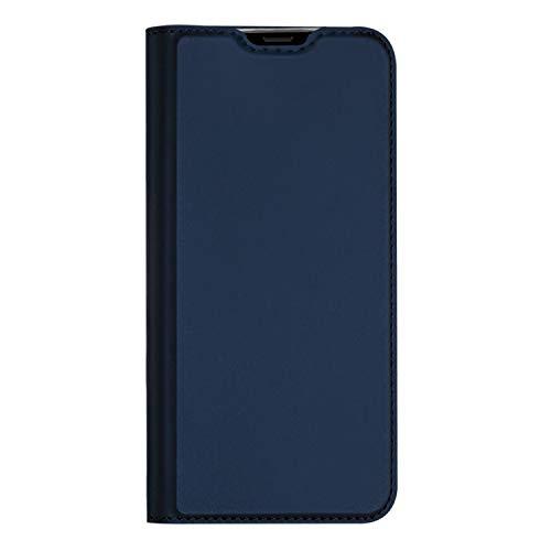 Hülle für Xiaomi Redmi Note 10/Mi 10S Hülle, Handyhülle Xiaomi Redmi Note 10/Mi 10S Tasche, Lederhülle Flip Hülle mit Magnetischem Superdünnem Seidigem Schutzhülle für Xiaomi Redmi Note 10/Mi 10S, Blau