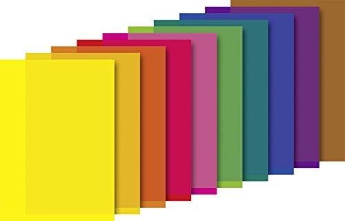Heyda 2048021 Transparentpapier-Heft / Pergamin (24,5 x 34 cm, 42 g/m², 10 Blatt)