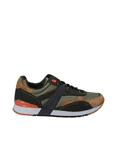 Napapijri Footwear Herren RABARI Sneaker, Mehrfarbig (Multi Green N702), 43 EU