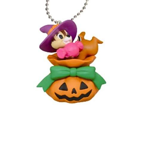 Disney Schlüsselanhänger CIP E CIOP Chip and Dale Halloween Zucca 4 cm Takara Tomy