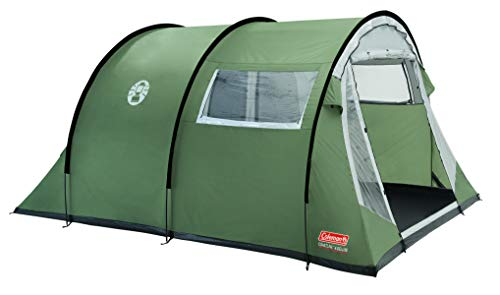 Coleman Tent Coastline 4 Deluxe, 4 Man Tent, 4 Person Tunnel Tent, Camping Tent, Family Tent, Qaterproof HH 3,000 mm