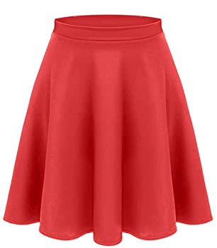 red skirt plus size