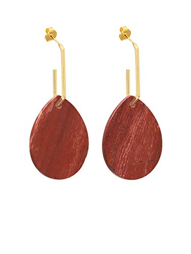 MIDDLETON RED JASPER EARRINGS
