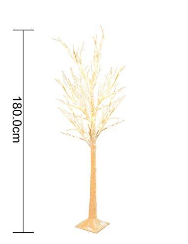 RAIKOU LED Lichterbaum Deko Baum mit Beleuchtung Weihnachtsbaum Birkenbaum (180cm hoch)