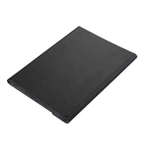 XIANNV Elegante Fudona de la Caja del Teclado para Samsung Galaxy Tab A 10.1 2019 SMT515 T510 T515 Tablet Magnetic Smart Bluetooth Teclado de Teclado + película (Color : Black with Black)