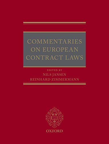 Commentaries on European Contract Laws (English Edition)