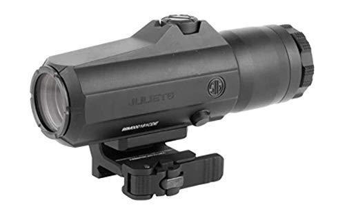 Sig Sauer SOJ61001 Juliet6 Red Dot Magnifier, 6X42MM, Powercam Qr