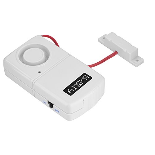 120db 9V Window and Door Alarm, Low Energy Consumption Wireless Alarm System Set Smart Home Security Alarm System