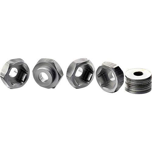 Absima 12 mm -> 17 mm 1:10 Alu-Felgenmitnehmer Aluminium 4 St.