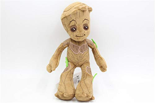 HNZYAMZDS 22cm Marvel Guardianes de la Galaxia Lindo Groot Juguetes de Peluche de Peluche Suave Kawaii bebé árbol Hombre Cosas muñeca Juguetes Regalos para niños