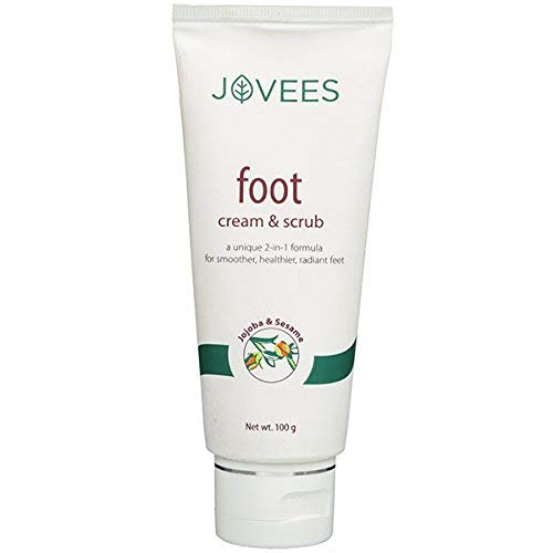 jovees FOOT CREAM & SCRUB 100 gm