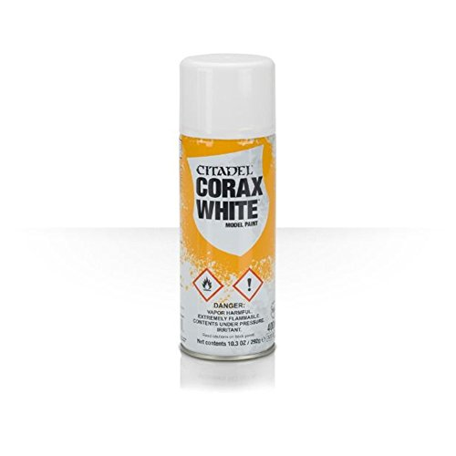GAMES WORKSHOP Spray: Corax White