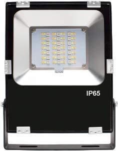 RGB + CCT Soposh schijnwerper 10, 30 of 60 watt (RGB en warm wit koud wit) ZigBee compatibel met de verlichting van bomen, heggen of struiken tuinschijnwerper tuinverlichting buitenverlichting