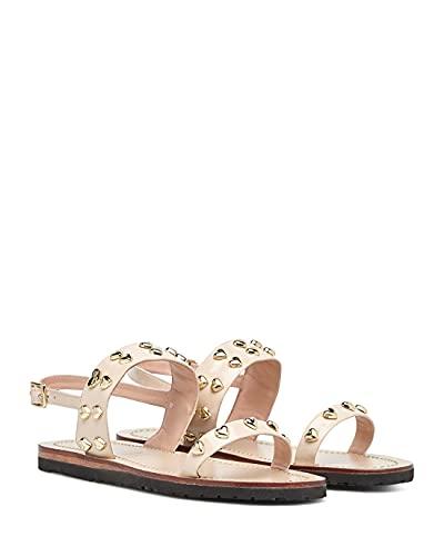 Love Moschino Chaussures Sandales Femmes JA16141 Vern Cipria Cuir Rose