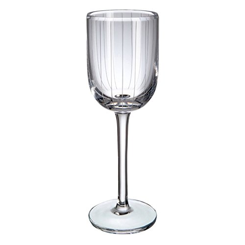 Verre de Bohême Merit Verres à vin Blanc, Verre, 6.5 x 6.5 x 21 CM, Lot de 2